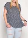 Hacci Tunic Top - Klutch Trends