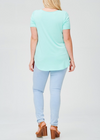 Mint Crisscross Tunic - Klutch Trends