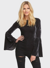 Bell Sleeve Reversible Top - Klutch Trends