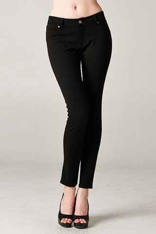 Casual Black Pants - Klutch Trends