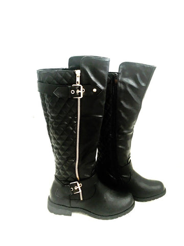 High Buckled Boot - Klutch Trends