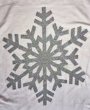 Shimmering Snowflake Flowing Top - Klutch Trends