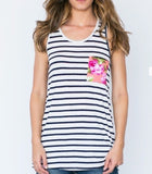Bow-Tie Tank - Klutch Trends