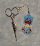 Beach (Crab) Scissor Fob Pattern Only