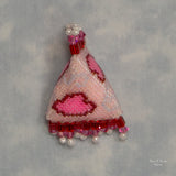 Beaded Hearts Humbug Needleminder Kit