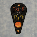 Beaded Candy Corn Scissorcase