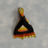 Beaded Candy Corn Humbug Needleminder Kit