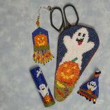 Ghostly Scissor Fob Pattern Only