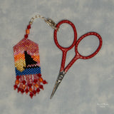 Sunset Scissor Fob Pattern Only