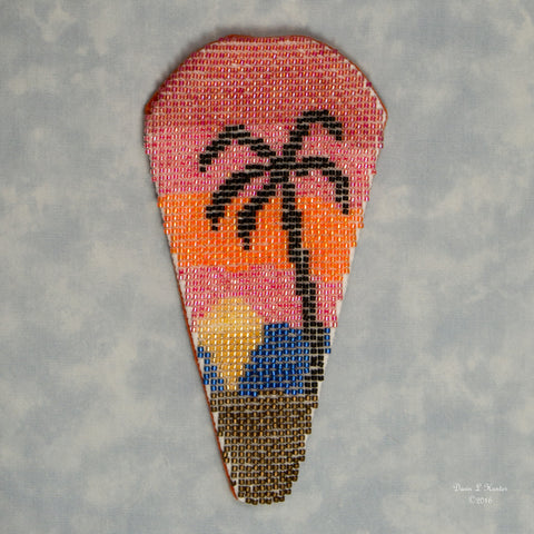 Beaded Sunset Scissorcase Kit