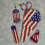 Flag Scissorcase Pattern Only