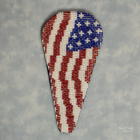 Beaded Flag Scissorcase Kit