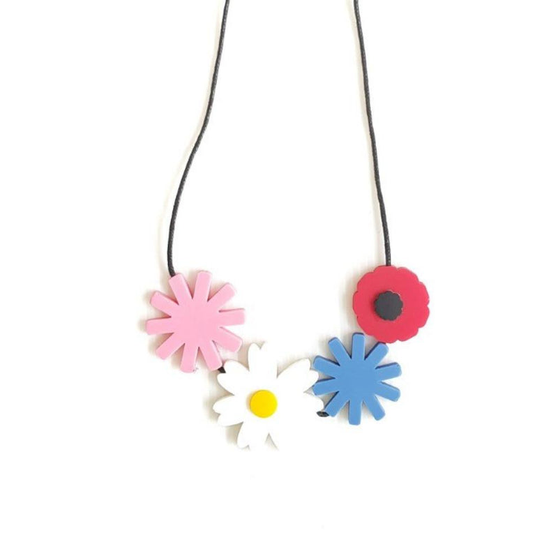 Flower Bouquet Necklace