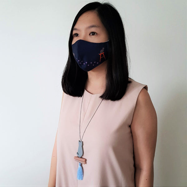 Cat Mask - Momi Necklace