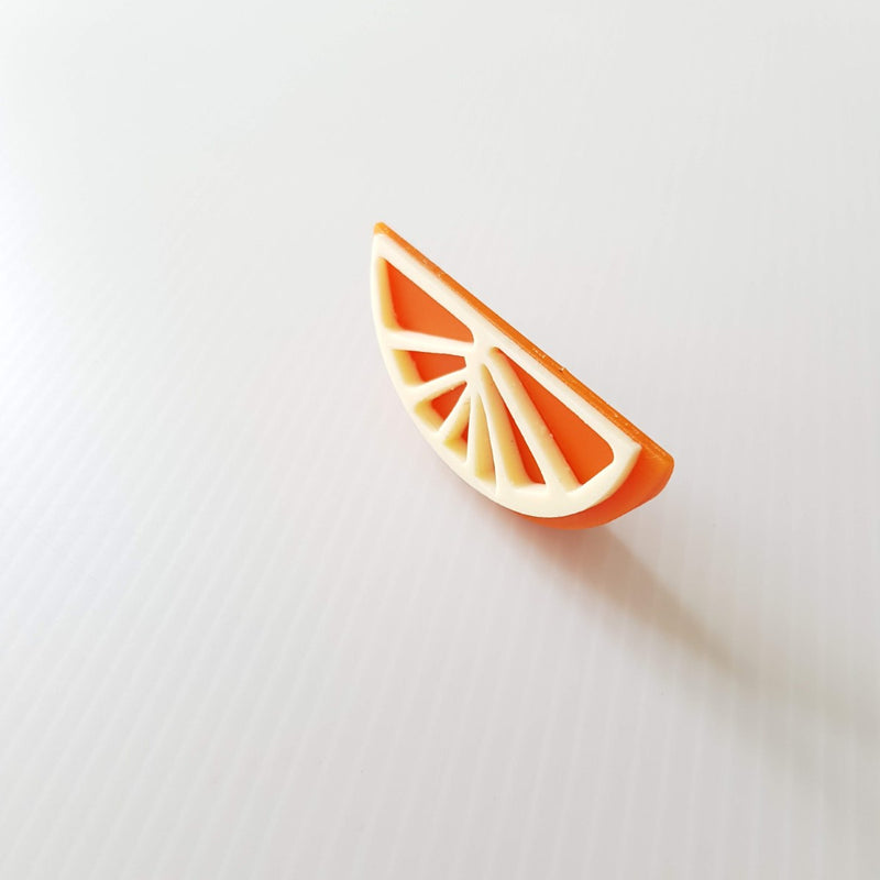 Fruit Mask Bundle - Orange Brooch