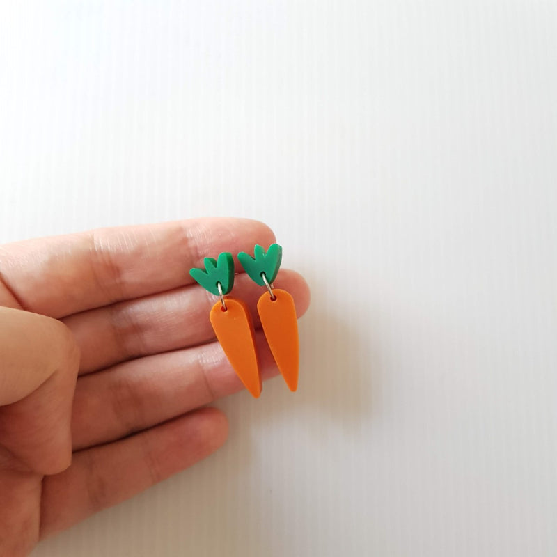 Carrot Earrings