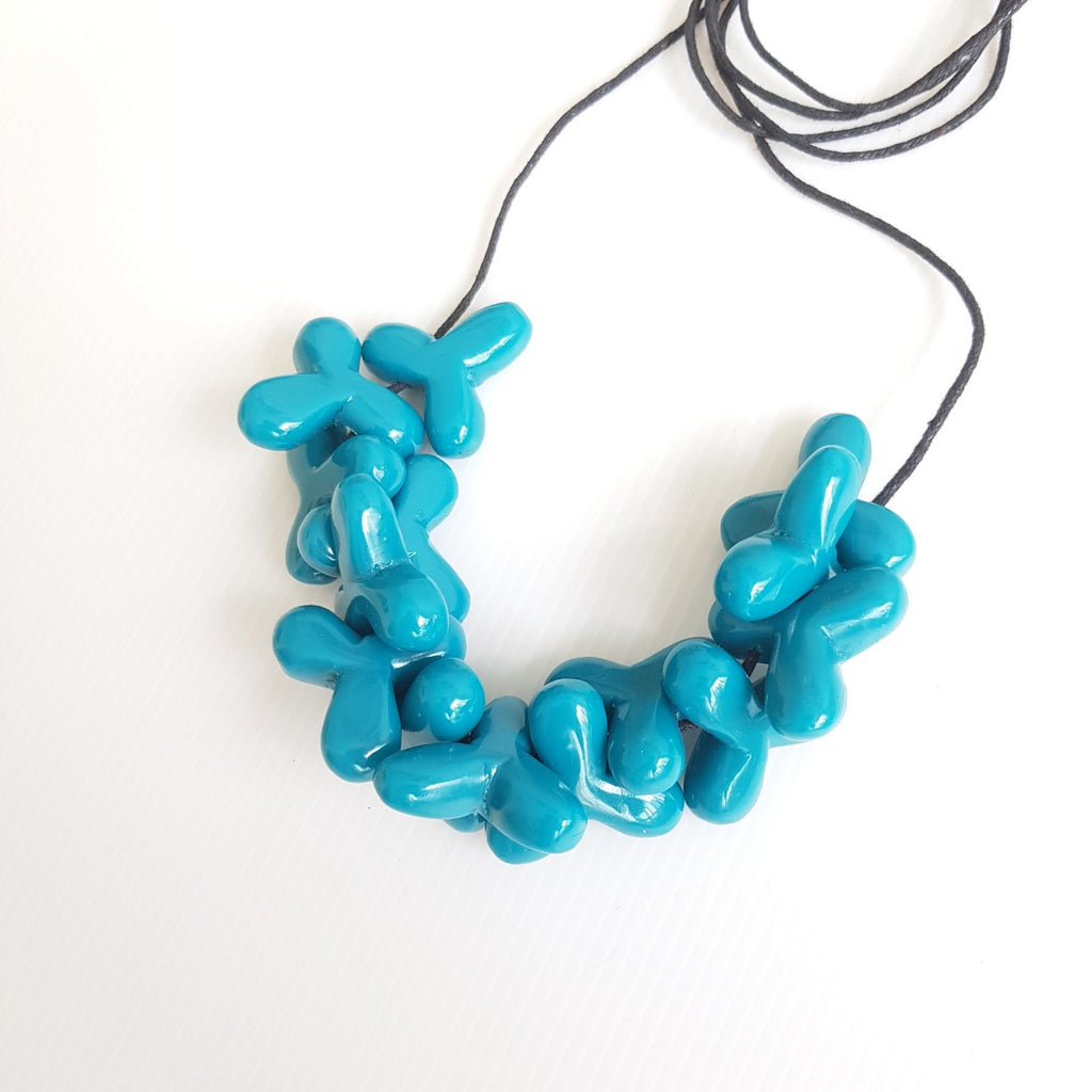Yura Blue Necklace