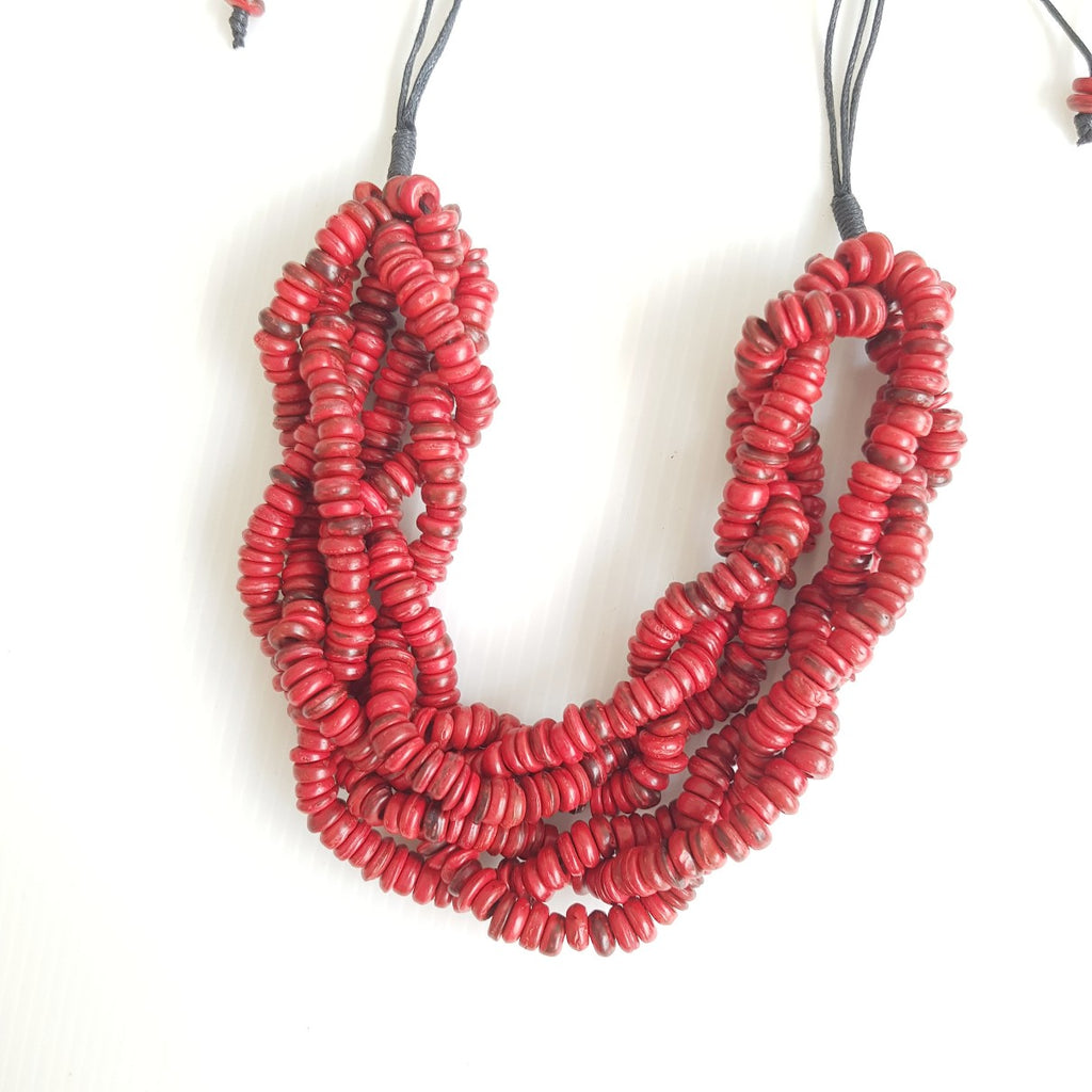 Bea Red Necklace