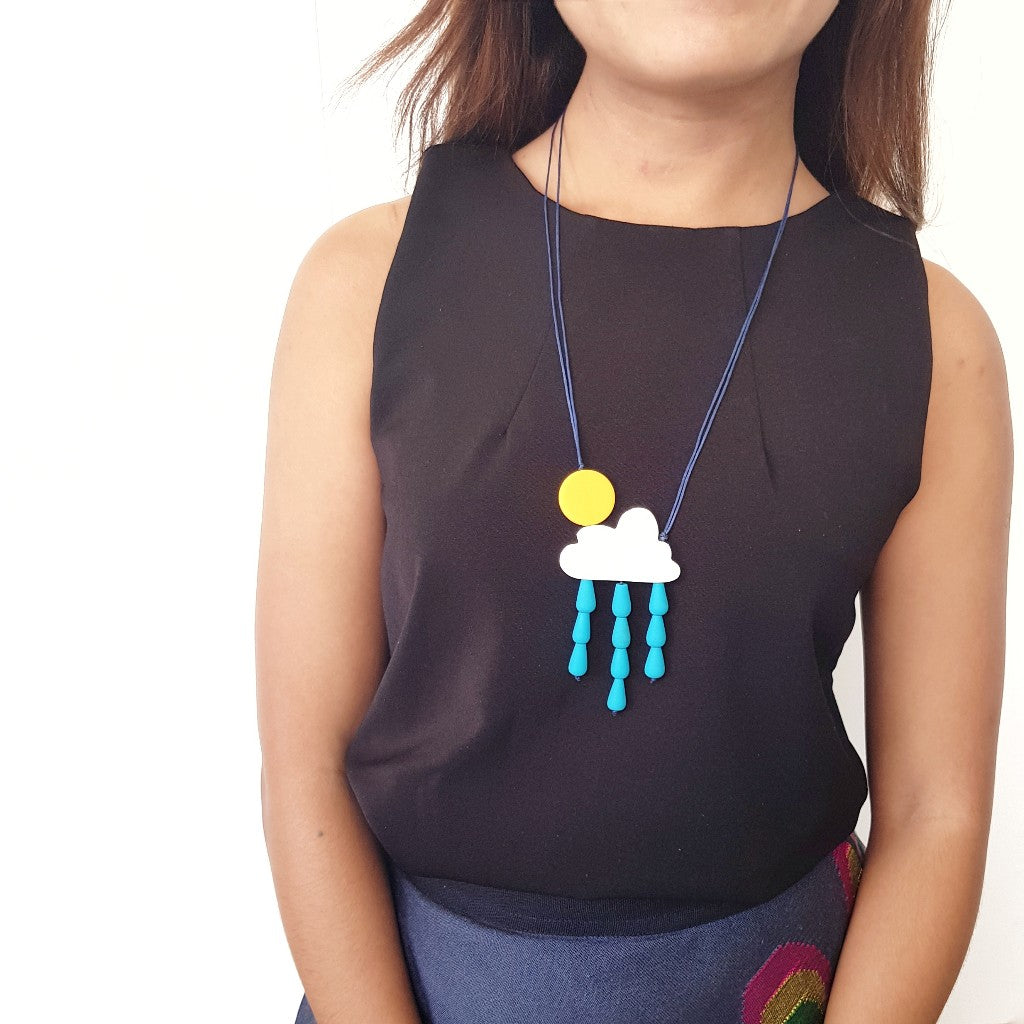 Cloud Rainy Necklace