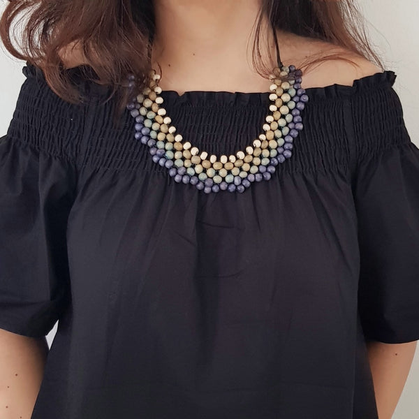 Lacey Blue Necklace