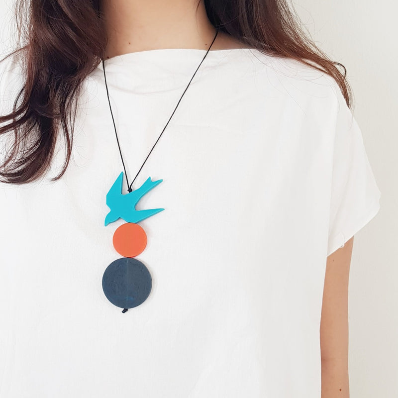 Kiki Swallow Necklace