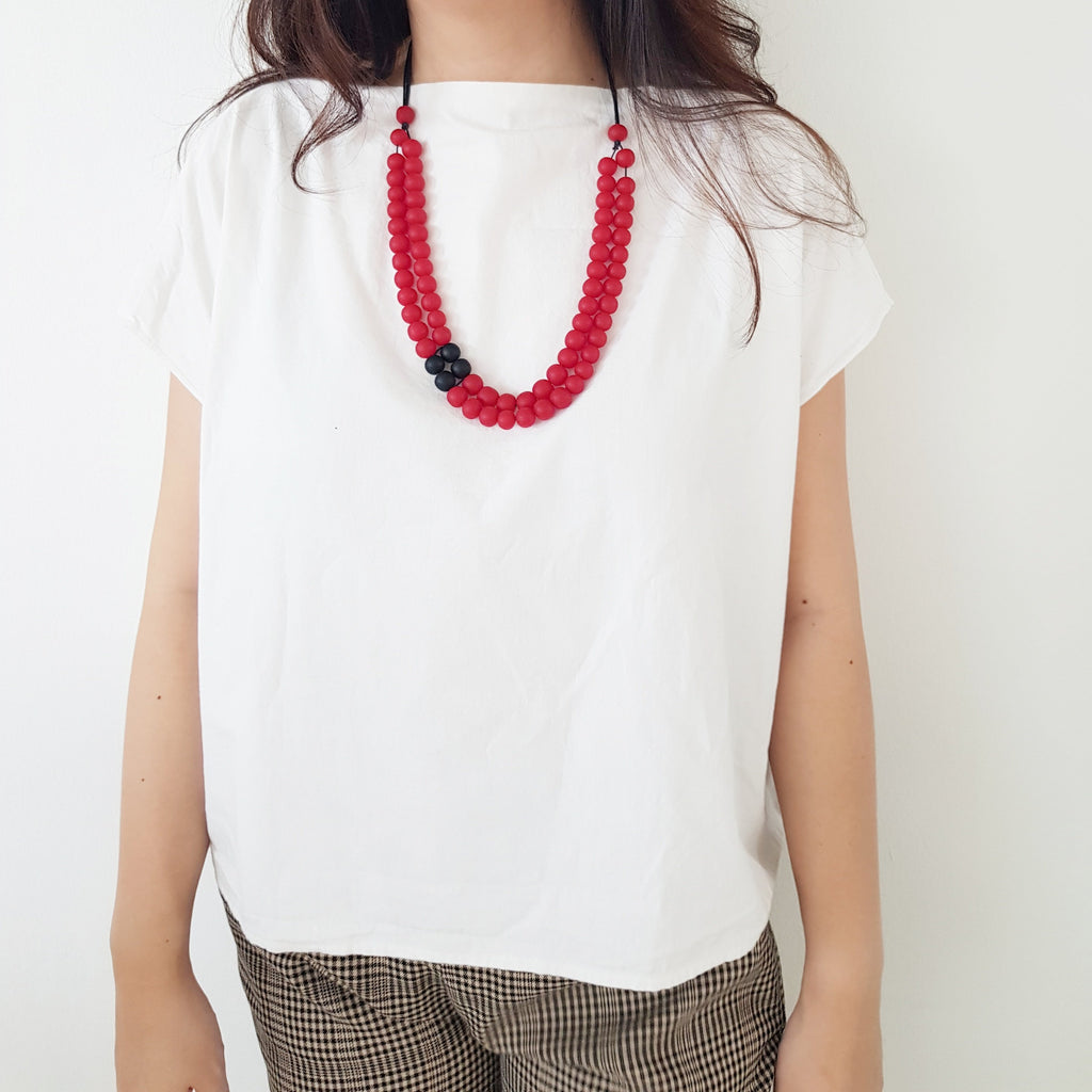 Cella Red Necklace