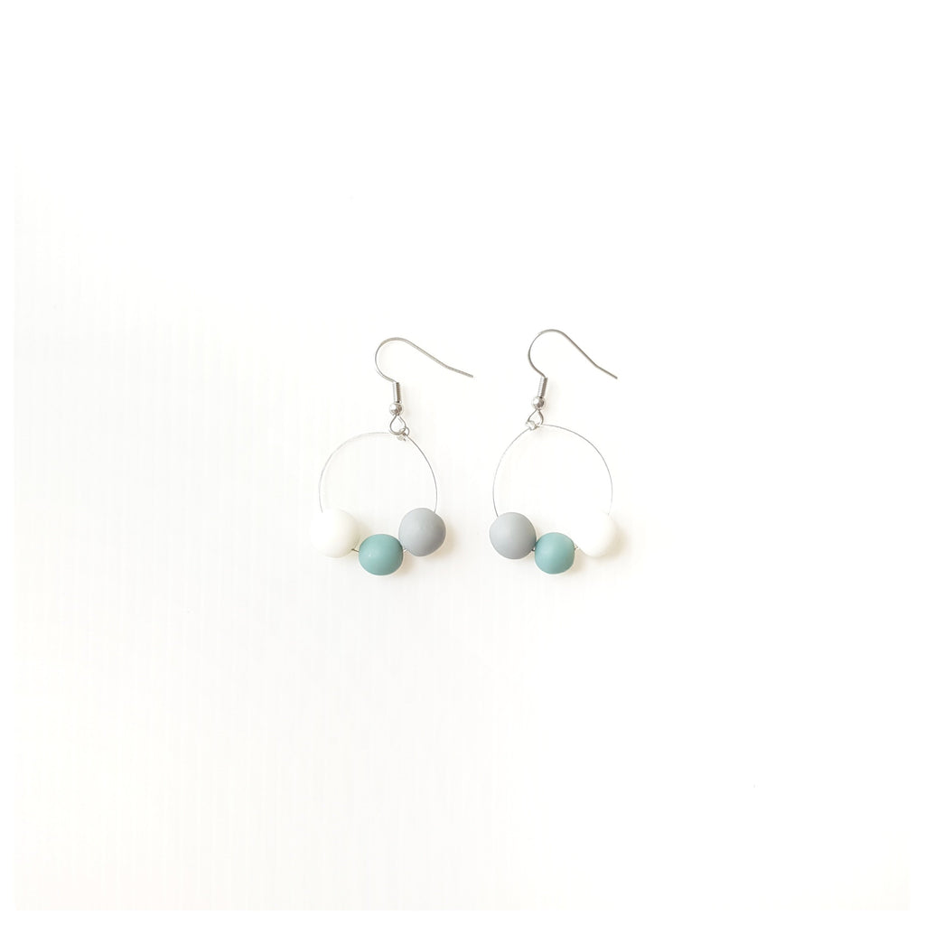 Holly Mint Earrings