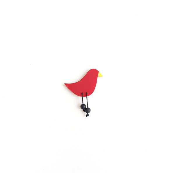 Red Robin Brooch