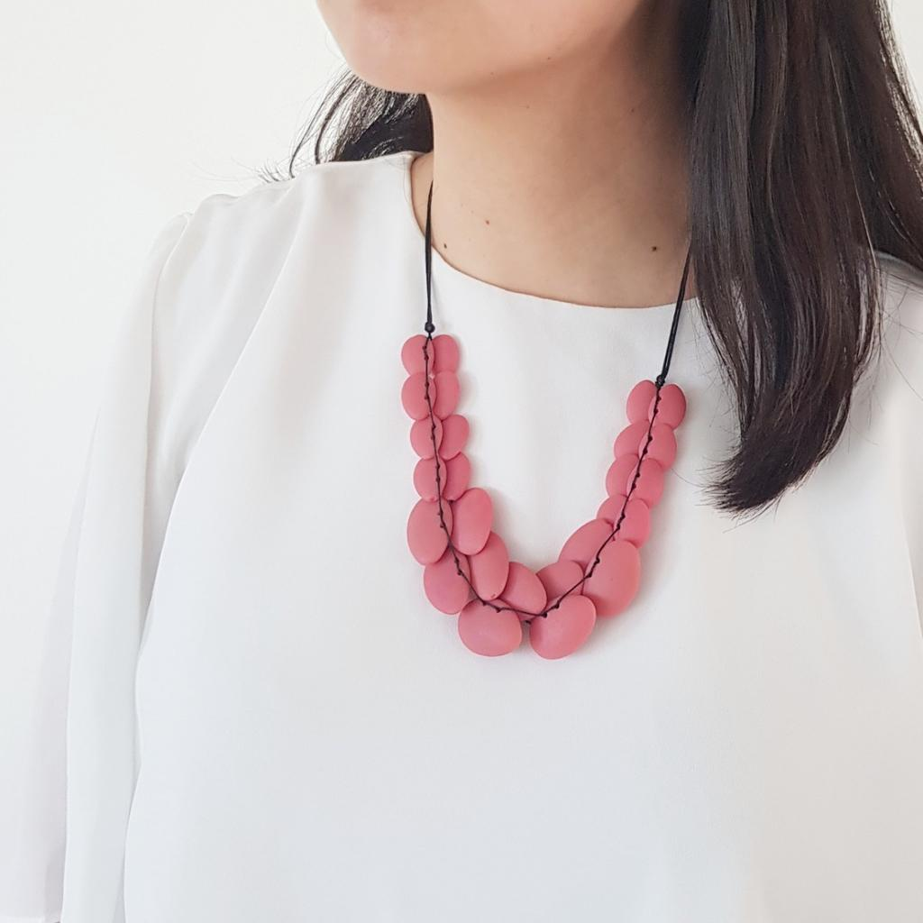 [AS-IS] Phoebe Pink Necklace