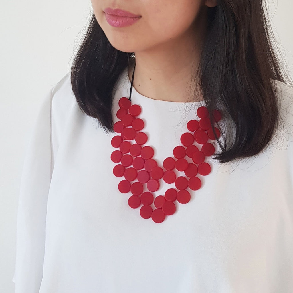 Gracia Red Necklace