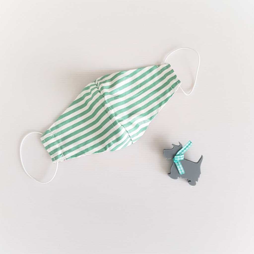 [Pre-order] Green Striped Mask Bundle C