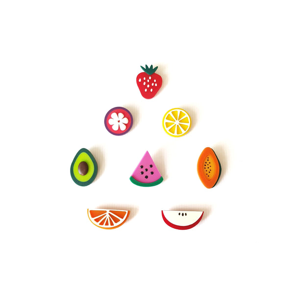 Fruit Platter (Brooches)