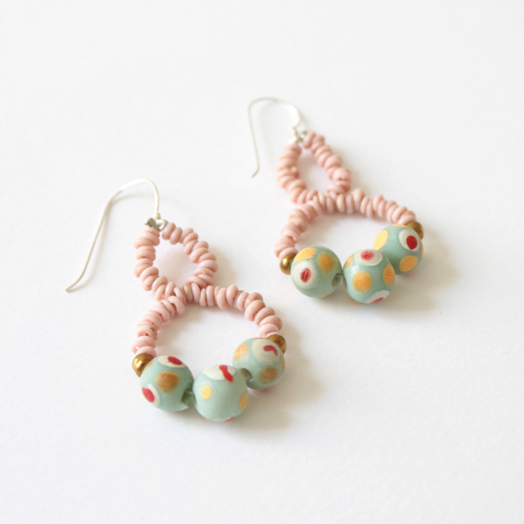 Eight Blush Earrings