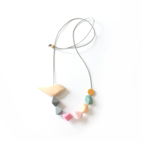 Ernie Birdie Pastel Necklace