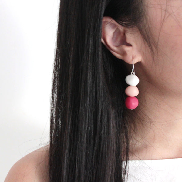 Dango Pink Earrings
