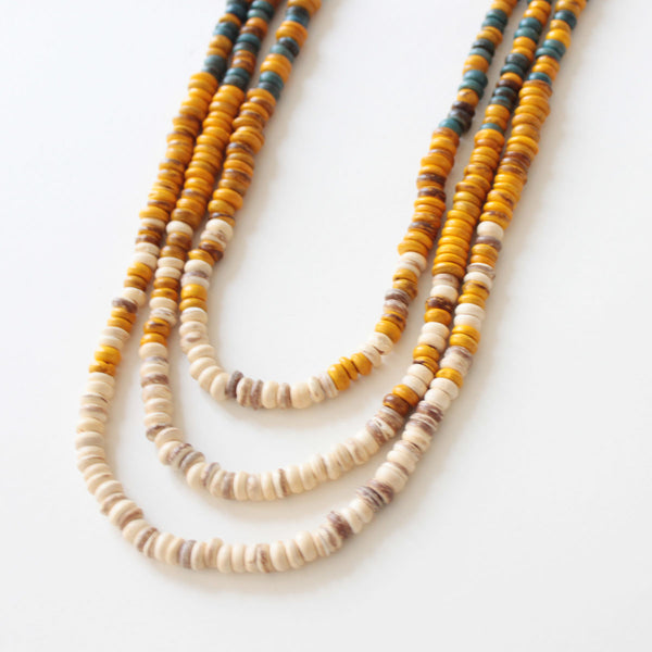 Kayleesh Ombre Yellow Necklace