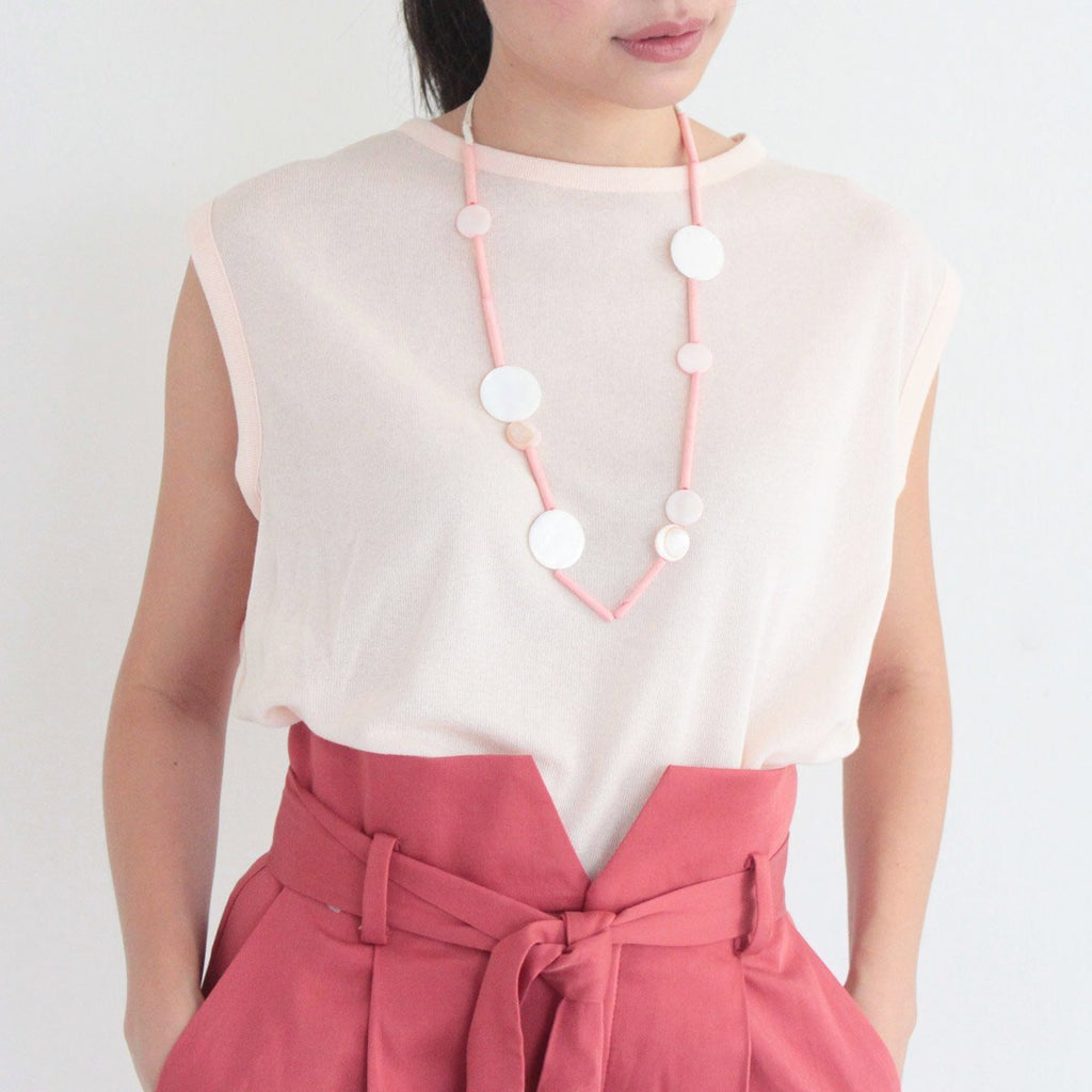 Kiki Pink Shell Necklace