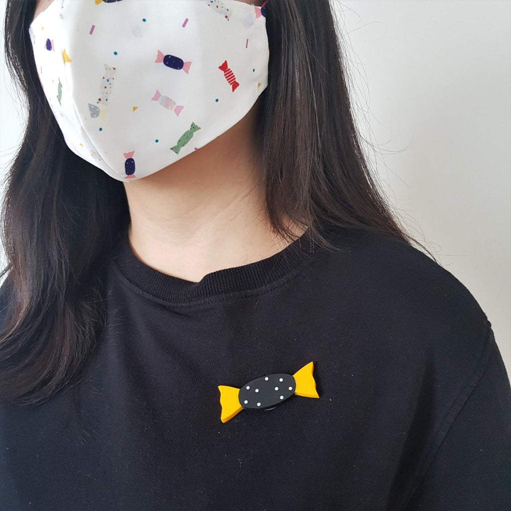 Candy Brooch - Lemon Cola