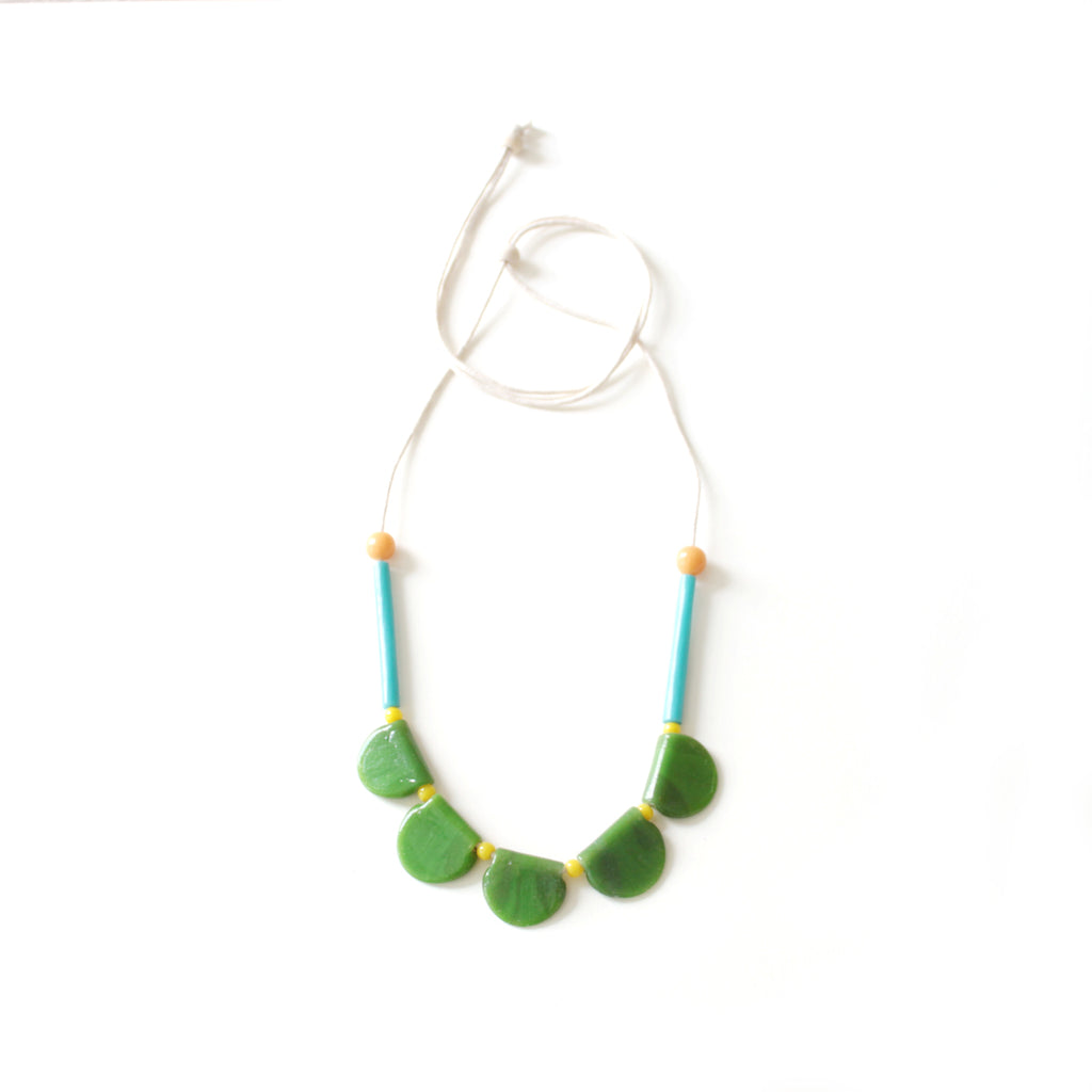 Maya Glass Necklace