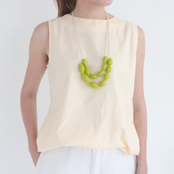 Olive Lime Necklace
