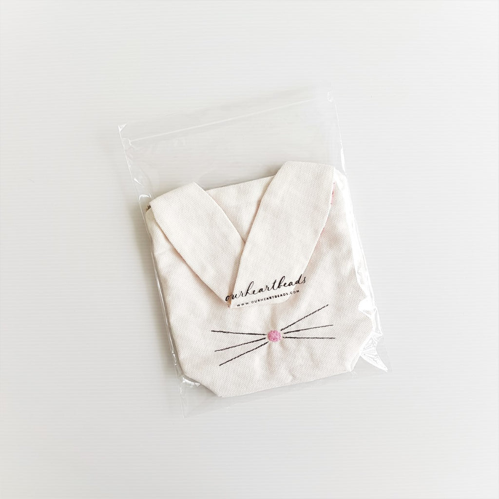 [PRE-ORDER] Rabbit Pouch White - Shipping 14 Aug