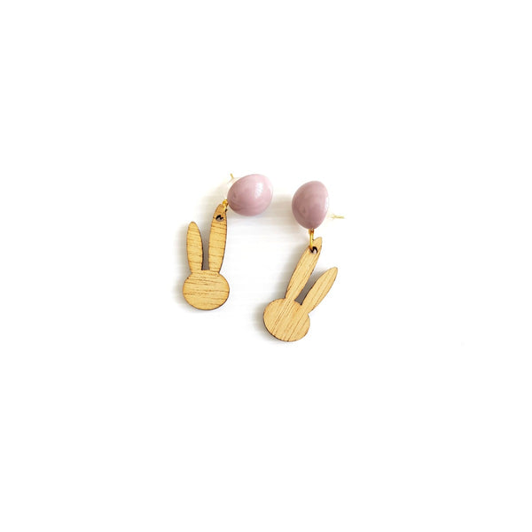 Missy Wood Earrings