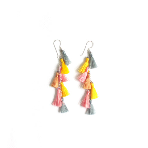 Tasselita Pastel Earrings