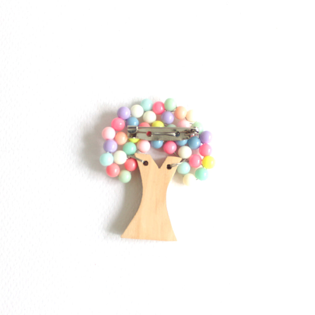 Tree Pastel Brooch
