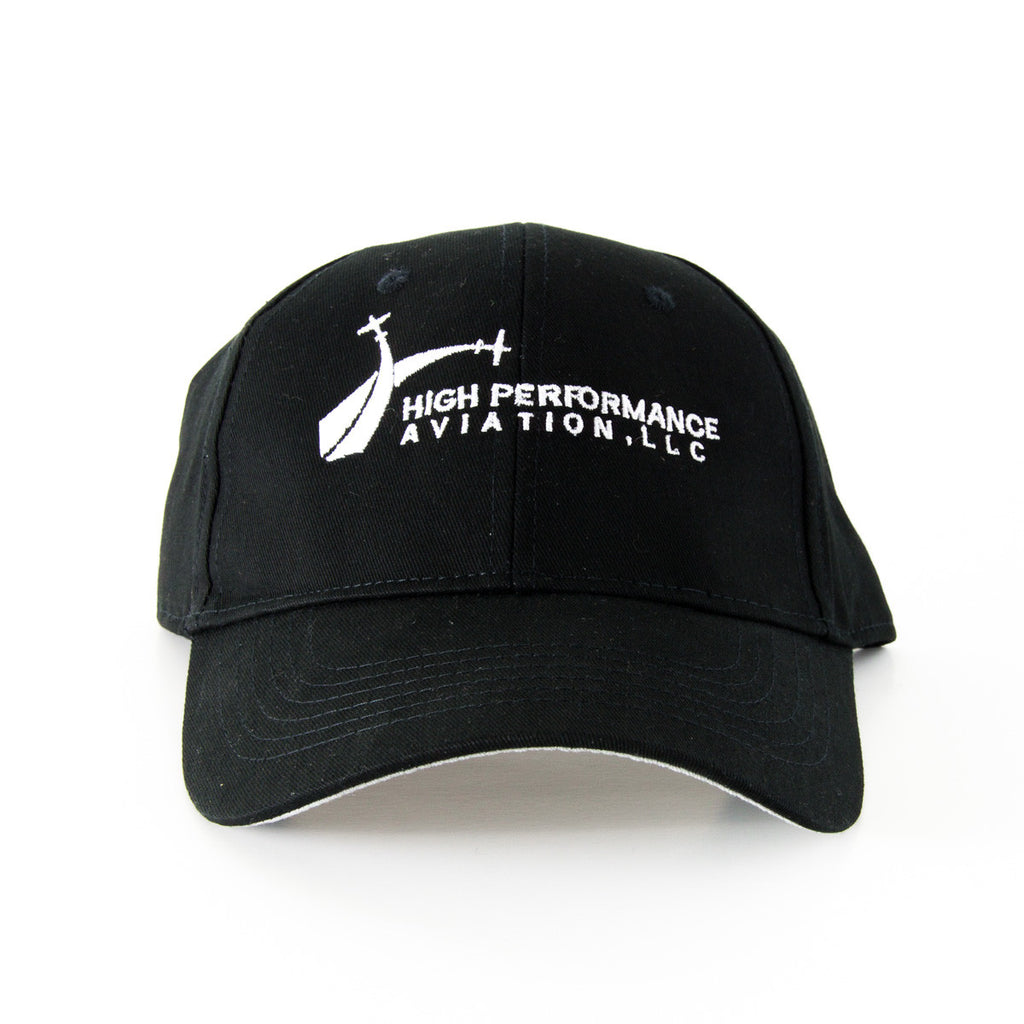 HPA Hat - Black - High Performance Aviation, LLC - 2