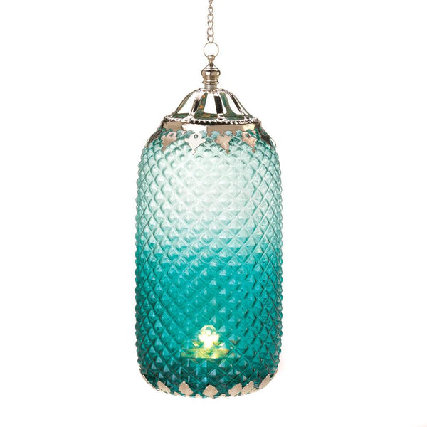 Exotic Diamond-Patterned Sophisticated Candle Lantern