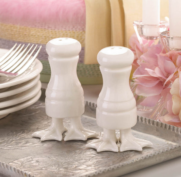 Duck Feet Salt and Pepper Set