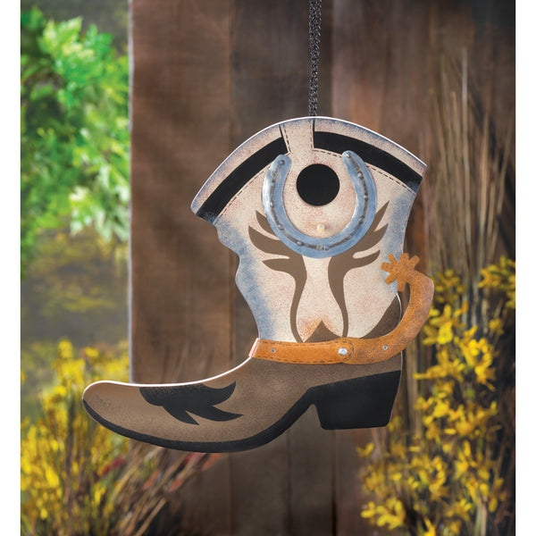 Cowboy Boot Bird House