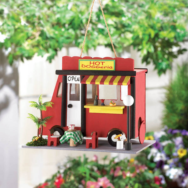 Hot Dog Stand Bird House