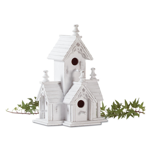 White Victorian Bird House-50% OFF Toady!